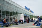 New terminal of Khrabrovo international airport