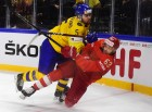 Ice hockey. IIHF World Championships. Russia vs. Sweden