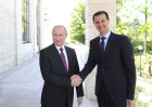 President Vladimir Putin meets with President of Syria Bashar al-Assad in Sochi