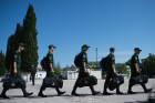 Sevastopol draftees depart for military service
