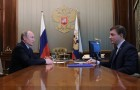 President Vladimir Putin meets with United Russia General Council Secretary Andrei Turchak