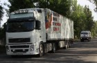 Russian humanitarian convoy arrives in Donetsk