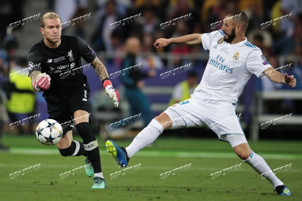 Football. UEFA Champions League. Final. Real Madrid vs. Liverpool