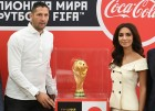 FIFA World Cup Trophy presentation in St. Petersburg