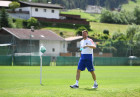 Football. National team's training camp
