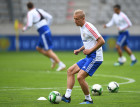 Football. Russian national team's training session