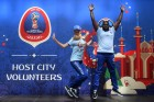 Volunteers prepare for 2018 FIFA World Cup