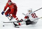 Ice Hockey World Championship. Russia vs. Switzerland