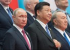 Russian President Putin attends SCO summit in China. Day two