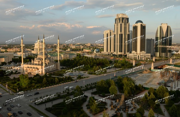 Cities of Russia. Grozny