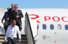 Russia World Cup Tunisia Arrival