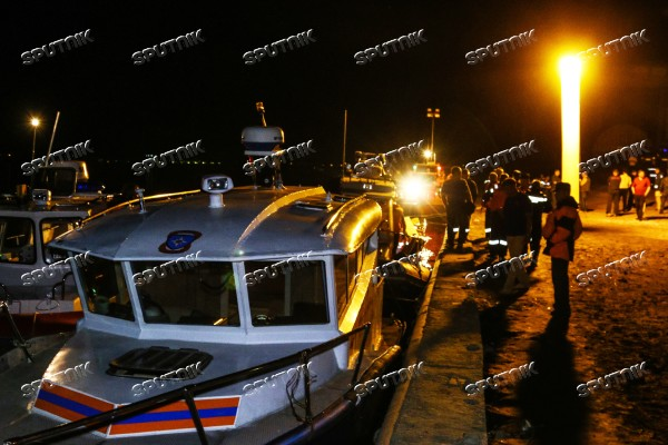 Catamaran collides with barge outside Volgograd