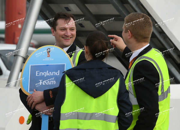 Russia World Cup England Arrival