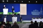 President Vladimir Putin attends 68th FIFA Congress