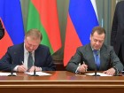 Prime ministers of Russia and Belarus at Union State Council of Ministers' meeting