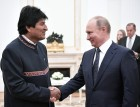 Russian President Vladimir Putin meets with President of Bolivia Evo Morales