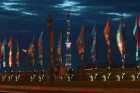 TV towers lit up in 2018 FIFA World Cup host cities
