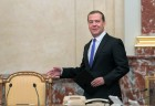 Russian Prime Minister Dmitry Medvedev chairs Government meeting
