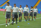 Russia World Cup Mexico Training
