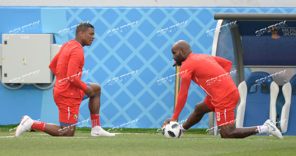 Russia World Cup Panama Training