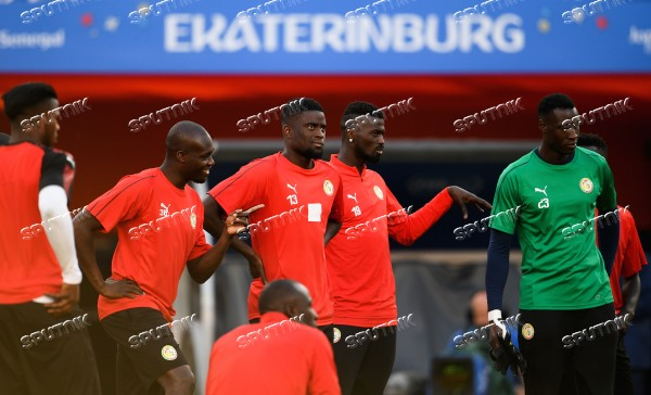 Russia World Cup Senegal Training