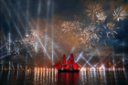 Scarlet Sails festival for high school graduates in St. Petersburg