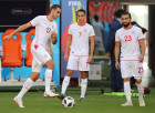 Russia World Cup Tunisia Training