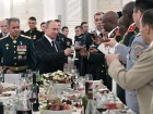 President Putin attends reception in honor of military graduates
