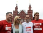 Unified all-star football match on Red Square