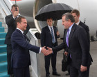 Prime Minister Dmitry Medvedev visits Turkey to take part in Recep Erdogan's inauguration