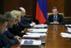 Prime Minister Dmitry Medvedev holds meeting of Presidium of Strategic Development and Priority Projects Council