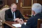 President Vladimir Putin meets with acting head of Dagestan Vladimir Vasilyev