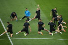 Russia World Cup Croatia Training
