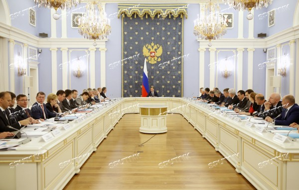 Prime Minister Dmitry Medvedev holds meeting on North Caucasus Federal District's socioeconomic development