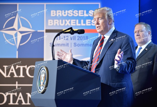 NATO Summit in Brussels. Day two