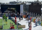 Russia World Cup Soccer On A Roof
