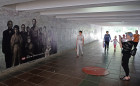 The Point of No Return art installation devoted to 100th anniversary of Russian imperial family's execution
