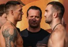 Boxing. Weighing ceremony of Murat Gassiev and Oleksandr Usyk