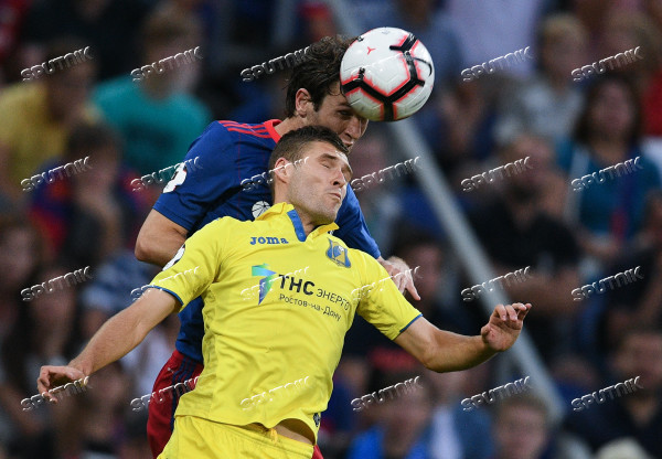 Football. Russian Premier League. CSKA vs. Rostov