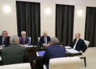 President Vladimir Putin holds meeting on space sector development