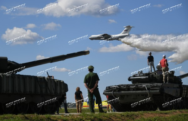 Tank biathlon. Third semi-final