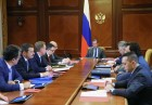 Russian Prime Minister Dmitry Medvedev chairs meeting of Vnesheconombank Supervisory Board