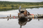 Raising IL-2 plane in Murmansk Region