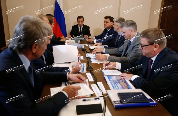 Prime Minister Dmitry Medvedev's working trip to Kamchatka Territory