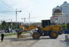 Street renovation in Grozny