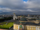 Aerial view of Moscow Kremlin