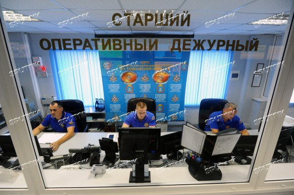 Emergency control center in Tambov