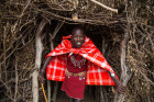 Maasai village in Kenya