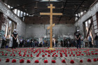 Commemorative events in Beslan