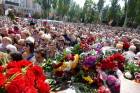 Bidding last respects to Donetsk People's Republic Head Alexander Zakharchenko